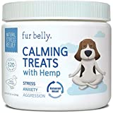 CALMING TREATS FOR DOGS - Our calming dog chews relieve stress and anxiety in your dog in situations such as thunderstorms, fireworks, travel, nail cutting, and separation. CALMING IN STRESSFUL SITUATIONS - Dogs may express their stress through bitin...
