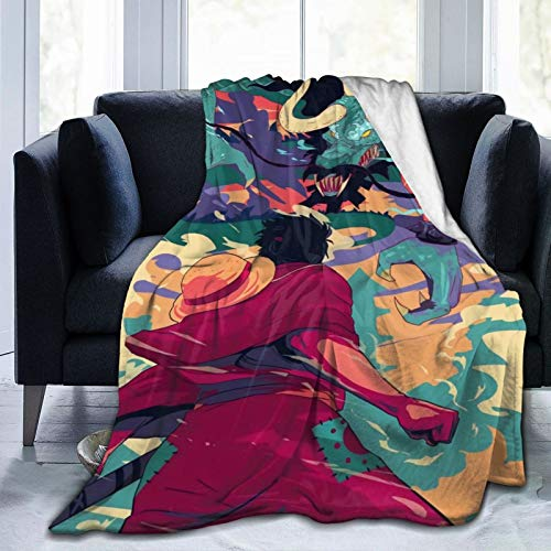 GEHIYPA One Piece Ultra-Soft Micro Fleece Blanket Microfiber Blanket,Luxury Blanket For Bedding Sofa And Travel 60x50 Inch