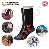 Stepluxe® Anti-Cold Socks Thermosocken mit Aluminiumfaser - Original aus TV-Werbung