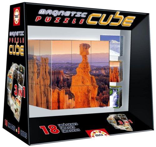 Borrás Magnetic Puzzle Cube Paisajes