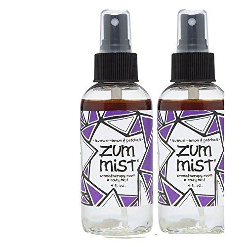 Indigo Wild: Zum Mist Lavender-Lemon Patchouli 4 Fl Oz Set of 2