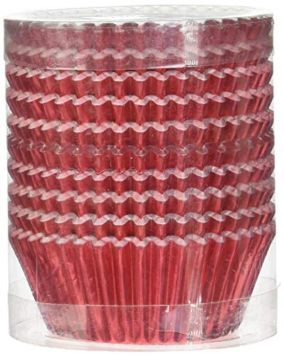 red and black cupcake liners - 4
