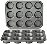 Best Muffin Pans - Amazon Basics Nonstick Muffin Baking Pan, 12 cups Review