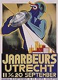 MCTEL Art Deco Poster by Jaarbeeurs Utrecht?s, 1920