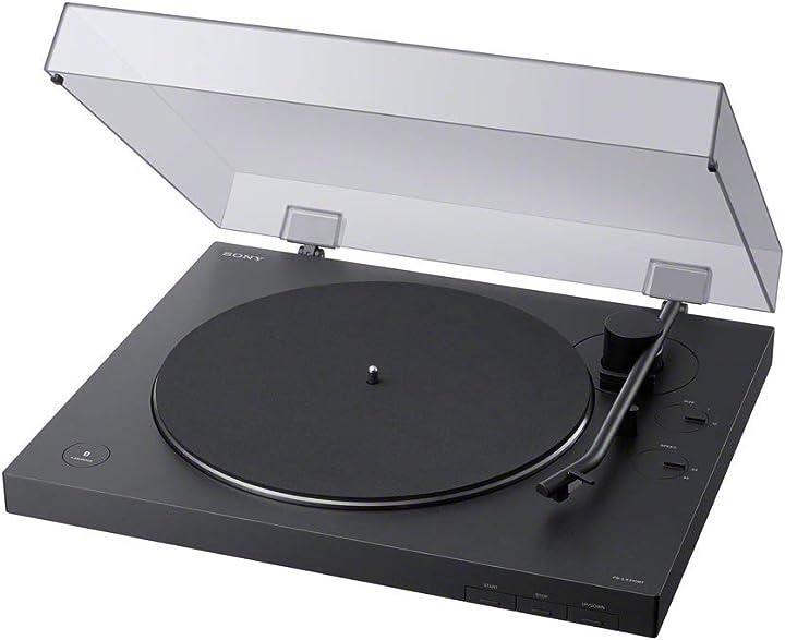 giradischi bluetooth Sony ps-lx310bt - eq fono integrato (nero)