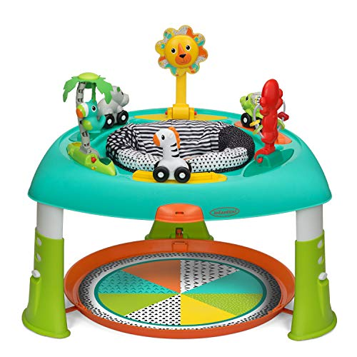 Infantino 2-in-1 Sit, Spin & Stand Entertainer 360 Seat & Baby Activity Table