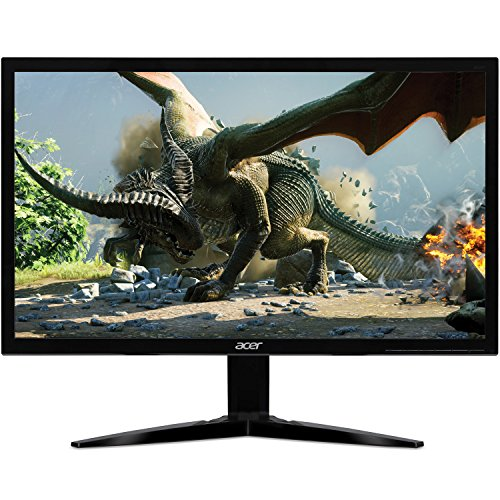 "Acer Gaming Monitor 21.5"" KG221Q bmix 1920 x 1080 1ms Response Time AMD FREESYNC Technology (HDMI & VGA Ports),Black"