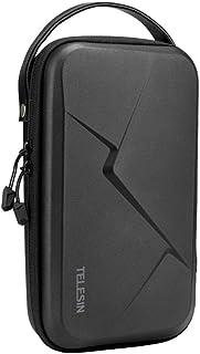 TELESIN Funda de Transporte Grande para GoPro Hero 8 7 6 5 4 3dji Osmo Pocket Action Insta360 One X Bolsa de Viaje Protectora rígida para Palo de Selfie Correa de Montaje y más Accesorios