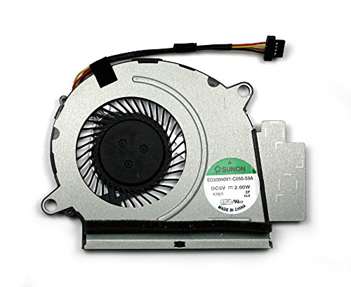 Power4Laptops Ventola Sostituzione per Portatili Compatibile con Acer Aspire S5-391-73514G25akk