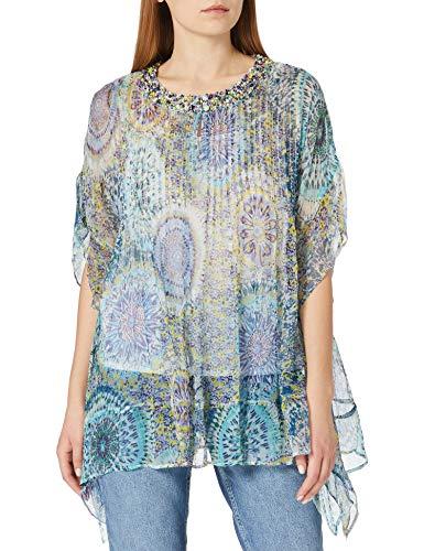 Derhy Damen Esquisse Bluse, grün, Large
