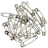 PARKONN Steel Rust Proof Safety Pins for Sarees Dresses -Set of 120