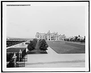 Infinite Photographs Photo: Biltmore House,Estates,mansions,Gardens,lawns,Asheville,North Carolina,NC,1902
