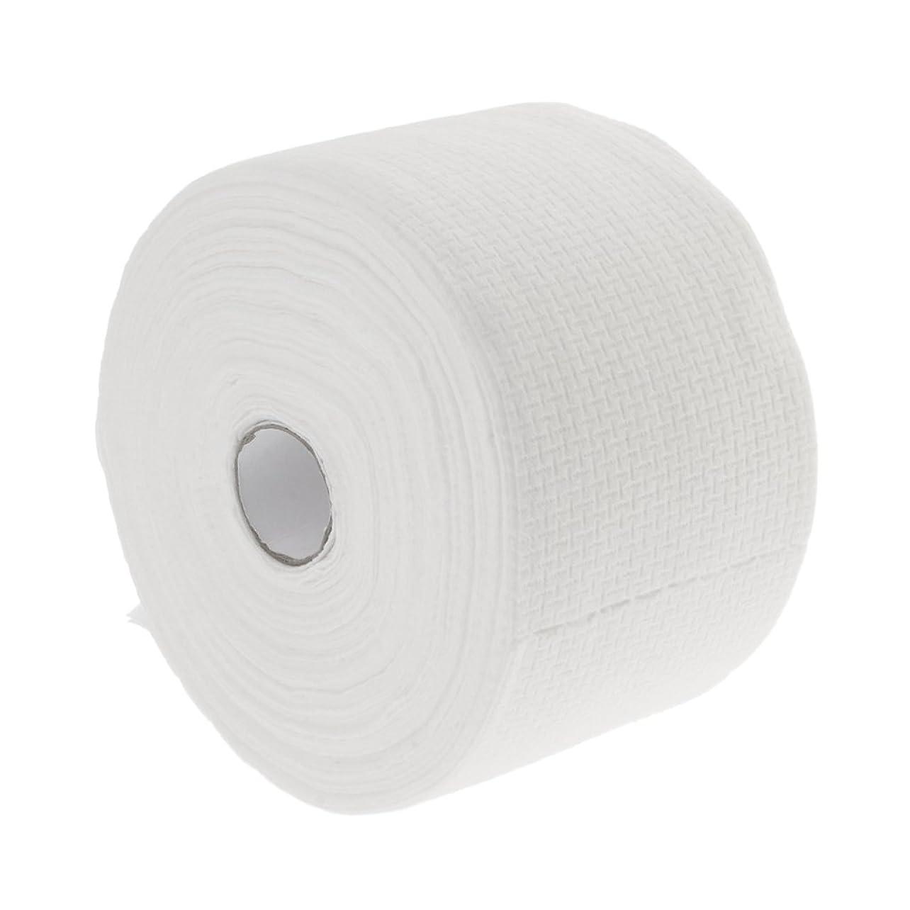 ストレッチセラフセメントPerfeclan ロール式 使い捨て フェイシャルタオル 30M 使い捨てタオル 繊維 クレンジング フェイシャル メイクリムーバー 2タイプ選べる - #1
