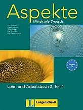 Aspekte 3-parte 1 libro alumno y ejercicios con CD audio: Lehr- Und Arbeitsbuch 3 Teil 1