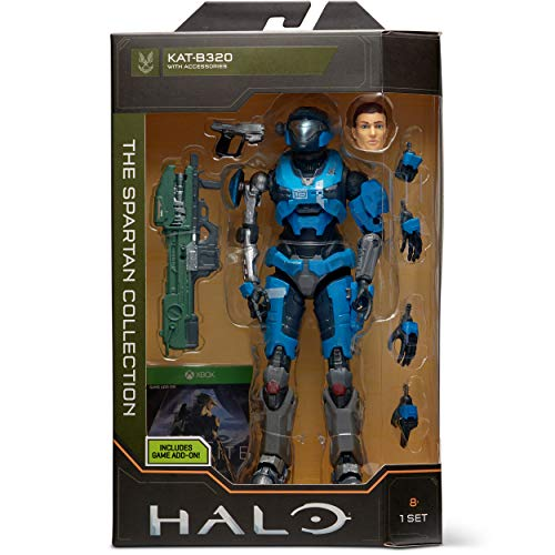 HALO 6.5' The Spartan Collection – Kat-B320 Highly Articulated, Poseable with Weapon Accessories - Scaled to Play & Display