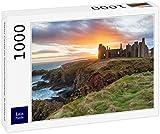 Lais Puzzle Castillo de Slains al Atardecer, Escocia 1000 Piezas