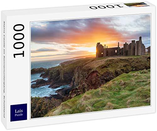 Lais Puzzle Castillo Asesinado en la Puesta del Sol, Escocia 1000 Piezas
