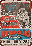 Laurbri James Brown at The Apollo in Harlem Blechschilder