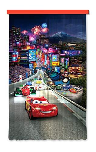 Gardine/Vorhang FCS L 7100 Disney, Cars, 140 x 245 cm, 1-teilig