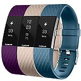 Photo Gallery funband compatible per cinturino charge 2 edizione speciale morbido sportivo di ricambio in tpe, accessori per orologio alla moda per charge 2