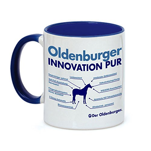 Tasse INNOVATION - OLDENBURGER - Pferde Pferd Teileliste Pferd Kaffeebecher Siviwonder