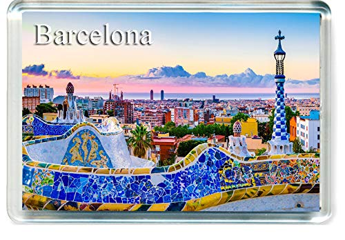 H236 Barcelona Imán para Nevera Spain Travel Fridge Magnet
