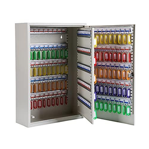 QSJY Caja de Bloqueo para Llave de la casa (200 bits, Placa de número marcable, Calidad metálica, Caja de Llaves de Pared Compatible con Llave de 5-8 cm) (Color : 200, Size : 55×38×14cm)