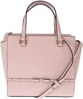 Pink SMALL HANDLEE Leather Handbag