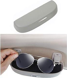 4 Colores Gresunny 4pcs Soporte para Gafas de Sol en el Coche Porta Gafas para Coche Doble Extremo sungalsses Montaje de anteojos para Visera de Coche Clips para Sujetar Gafas Tarjetas Billetes