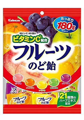 カバヤ食品『フルーツのど飴』