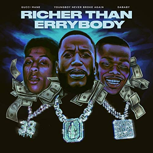 Gucci Mane feat. DaBaby & Youngboy Never Broke Again