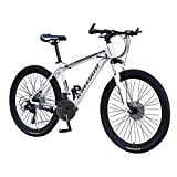26 Inch Adult Mountain Bike,21-speed Variable Speed Bicycle.aluminum Alloy Big Wheels Mountain Brake,trail