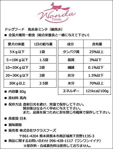 サクラスフーズワンダフード『馬赤身ミンチ(細挽き)』