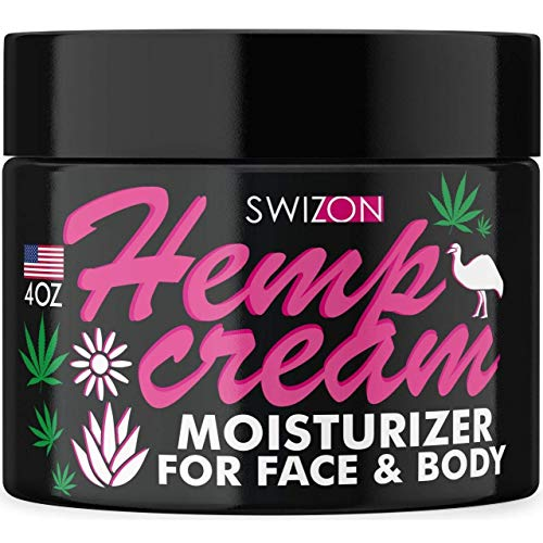 Natural Hemp Cream for Pain with Arnica, Emu Oil, Turmeric - Best Pain Cream for Arthritis, Back, Joints, Elbows, Neck, Fingers - Muscle Relaxer & Pain Recover Inflammation Cream