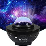 Galaxy Light Projector (UK Company) LED Star Projector 3 in 1 Night Light Projector Light Bedroom Star Lights Gifts for Kids