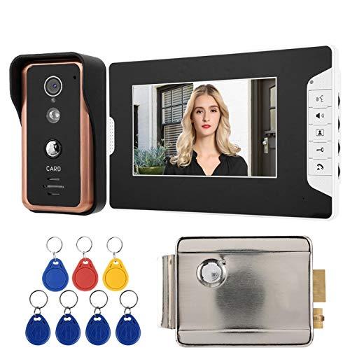 CHICIRIS Videoportero TFT, Intemcom 100-240V Alto Video System(British regulations (100-240V))