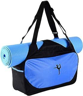 CLISPEED Gym Shoulder Bag Yoga Mat Fabric Bag Sport Tote Holder Fitness Carrying Handbag Case or Traveling Shopping Hiking...