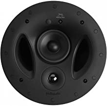 Polk Audio 90-RT 3-Way In-Ceiling Speaker - The Vanishing Series | Perfect for Mains, Rear or Side Surrounds | Paintable W...