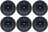 (6) Rockville RM68SP CEA Compliant 6.5 480W Midrange Car Speakers 8 Ohm