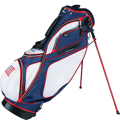 PowerBilt TPS Dunes USA Flag Stand Golf Bag