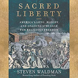 Sacred Liberty audiobook cover art