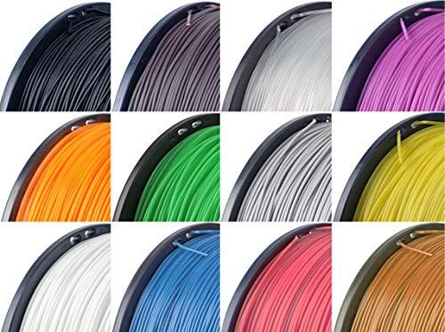 BuMat Elite Wood 3D Printer Filament, Dimensional Accuracy +/- 0.05, Fits Most FDM Printers, 0.75 kg Spool, 1.75mm, Natural