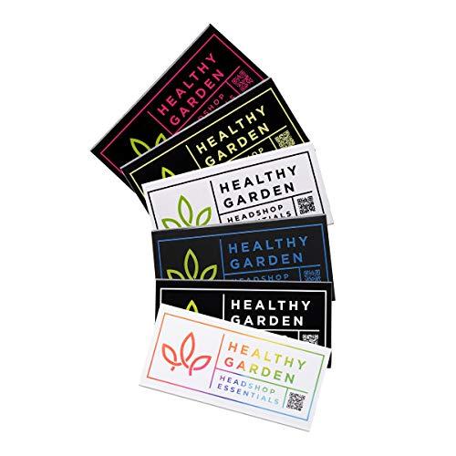 HEALTHYGARDEN 32 Pinke Longpapers und Tips Kingsize Slim | 1 Packung (Pink, 1)