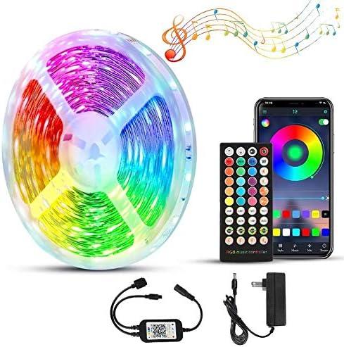 50ft 15M LED Strip Lights Kit Color Max 46% OFF Flexible Light Max 79% OFF C Led