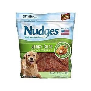An Item of Nudges Health Wellness Chicken Jerky Dog Treats, 40 oz. – Pack of 1 – Bulk Disc