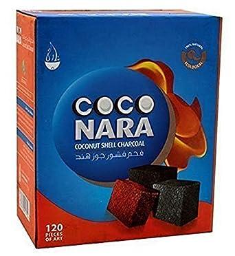 60 Count Cubic CocoNara Coconat Charcoal Incence frankincense Hookah Coco Nara