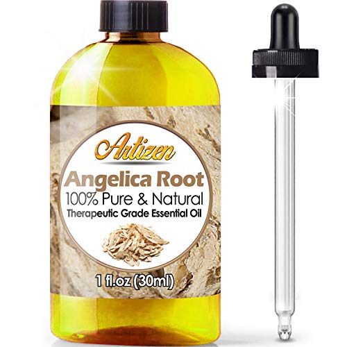 Artizen Angelica Root Essential Oil (100% Pure &Amp; Natural - Undiluted) Therapeutic Grade - Huge 1Oz Bottle - Perfect For Aromatherapy, Relaxation, Skin Therapy &Amp; More!
