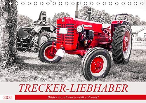Trecker-Liebhaber (Tischkalender 2021 DIN A5 quer)