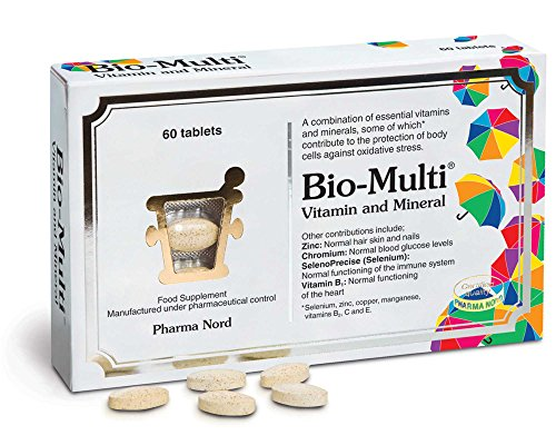 Pharma Nord Bio Multi Vitamin and Mineral - Pack of 60 Tablets
