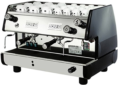 Why Choose La Pavoni BAR-T 2V-B Commercial 2 Group 14L Boiler Volumetric Espresso Machine, Black Sid...